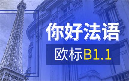 欧风法语欧标B1.1课程