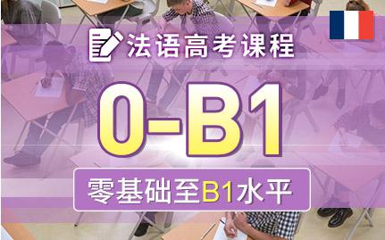 高考法语B1冲刺课程
